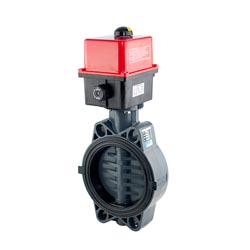 Actuated Thermoplastics Butterfly Valve Suppliers